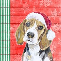 Holiday Puppy I Fine-Art Print