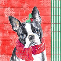 Holiday Puppy II Fine-Art Print