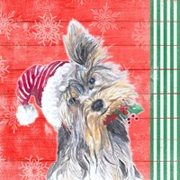Holiday Puppy III Fine-Art Print