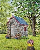 Spring at the Springhouse Fine-Art Print
