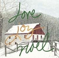 Love Joy Noel Fine-Art Print