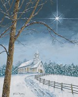 Shining Holiday Star Fine-Art Print