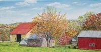 Autumn's Colors Panel Fine-Art Print