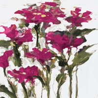 Plum Wild Flowers Fine-Art Print