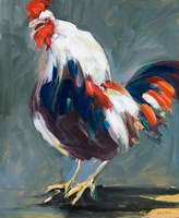 Rising Rooster Fine-Art Print