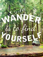 Wandering to Find Yourself Fine-Art Print