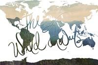 The WIld Awaits Map Fine-Art Print