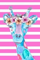 Funky Giraffe Fine-Art Print