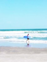 East Coast Surf Girl Fine-Art Print