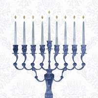 Sophisticated Hanukkah I Fine-Art Print