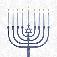 Sophisticated Hanukkah II Fine-Art Print
