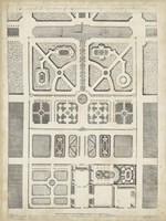 Antique Garden Design III Fine-Art Print