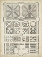 Antique Garden Design IV Fine-Art Print