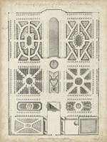 Antique Garden Design VI Fine-Art Print
