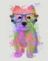 West Highland Terrier Rainbow Splash Fine-Art Print