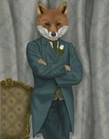 Fox Victorian Gentleman Portrait Fine-Art Print