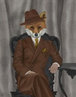 Fox 1930s Gentleman Fine-Art Print