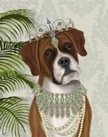 Boxer and Tiara, Portrait Fine-Art Print