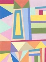 Confetti Structure I Fine-Art Print