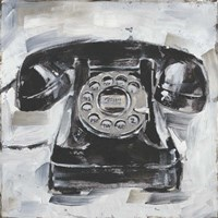 Retro Phone I Fine-Art Print