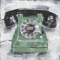 Retro Phone III Fine-Art Print
