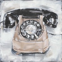 Retro Phone IV Fine-Art Print