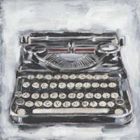 Vintage Typewriter I Fine-Art Print