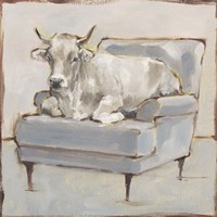 Moo-ving In III Framed Print