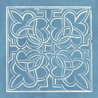 Garden Schematic I Fine-Art Print