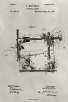 Patent--Sewing Machine Fine-Art Print