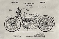 Patent--Motorcycle Fine-Art Print