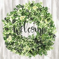 Welcome Wreath II Fine-Art Print