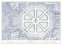 Kitchen Garden Plan II Fine-Art Print