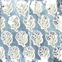 Flower Stone Tile II Fine-Art Print