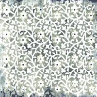 Flower Stone Tile III Fine-Art Print