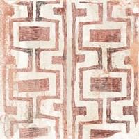 Red Earth Textile V Fine-Art Print