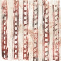 Red Earth Textile IX Fine-Art Print