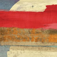 Moon Rising from the Crimson Sky I Fine-Art Print