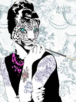 Smoking Diva Fine-Art Print