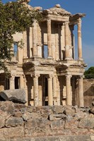 Turkey, Izmir, Kusadasi, Ephesus The Library Of Ephesus Fine-Art Print