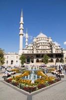 Turkey, Istanbul The Exterior Of Yeni Cami Mosque Fine-Art Print