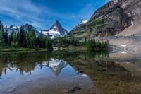 Mount Assiniboine Reflected In Sunburst Lake Fine-Art Print