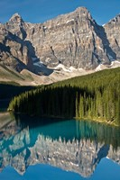 Morning, Moraine Lake, Reflection, Canadian Rockies, Alberta, Canada Fine-Art Print