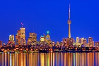 Toronto Skyline At Dusk Fine-Art Print