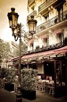 Le Metro Restaurant, Left Bank, Paris, France Fine-Art Print