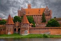 Poland, Malbork Medieval Malbork Castle Fine-Art Print