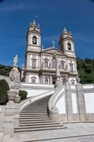 Portugal, Braga, Tenoes, Portuguese Pilgrimage Site, Good Jesus Of The Mount Fine-Art Print