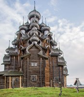 Kizhi Pogost Wooden Church In Lake Onega Karelia Russia Fine-Art Print