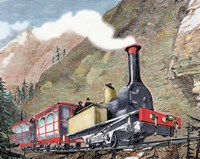 Old Railway 19th-Century Fine-Art Print