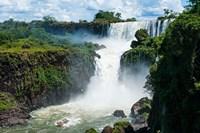 Largest Waterfalls, Foz De Iguazu, Argentina Fine-Art Print